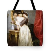 Reflections Of Maternal Love Tote Bag
