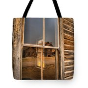 Reflections Of Montana Mining Tote Bag