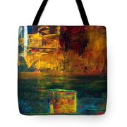 Reflections Of New York Tote Bag
