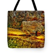 Reflections Of Rock Tote Bag
