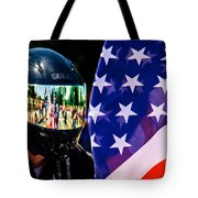 Reflections Of Rolling Thunder Tote Bag