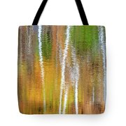 Reflections Of The Canadian Fall Tote Bag