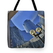 Reflections Of The Future Tote Bag