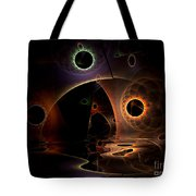 Reflections Of The Mind Tote Bag