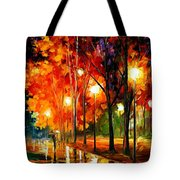 Reflections Of The Night Tote Bag
