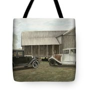 Reflections Of The Past Tote Bag