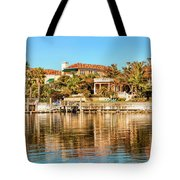 Reflections Of The Rich And Famous Tote Bag
