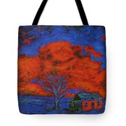 Reflections Of The Storm Tote Bag