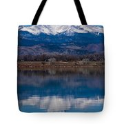 Reflections Of The Twin Peaks Tote Bag