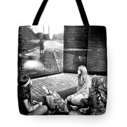 Reflections Of War Tote Bag