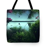 Reflections Of Waterlii Tote Bag