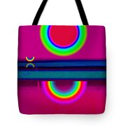Reflections On A Glass Lake Tote Bag