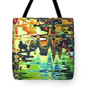 Reflections On Color Tote Bag