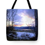 Reflections On Lake Okanagan Tote Bag