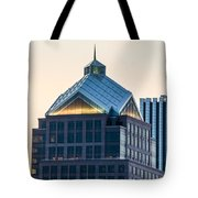 Reflections On Legacy Tower Tote Bag