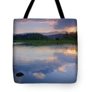 Reflections On Mica Bay Tote Bag