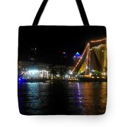 Reflections On Tampa Bay Tote Bag