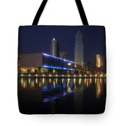 Reflections On Tampa Tote Bag