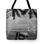 Reflections On The Building Tote Bag