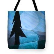 Reflections On The Day Tote Bag by J R Seymour