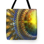 Reflections On The Day Just Beginning Tote Bag