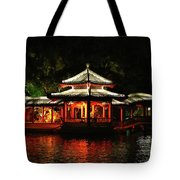 Reflections On The Lake Tote Bag