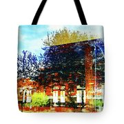 Reflections On The Old Depot Tote Bag