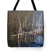 Reflections On The Yellow River Tote Bag