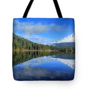 Reflections On Trillium Tote Bag