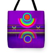 Reflections On Violet Tote Bag