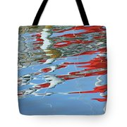 Reflections - Red White Blue Tote Bag