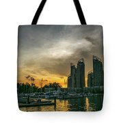 Reflections Singapore Tote Bag