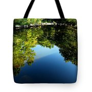 Reflections Trees Tote Bag
