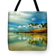 Reflective Beach Tote Bag