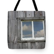 Reflective Clouds Tote Bag