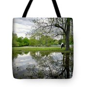 Reflective Field In Spring Tote Bag