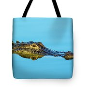 Reflective Gator Tote Bag
