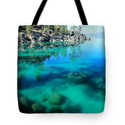 Reflective Liquid Dreams Tote Bag