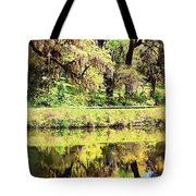 Reflective Live Oaks Tote Bag