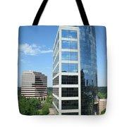 Reflective Mirror Architecture Tote Bag
