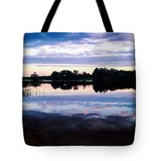 Reflective River  Tote Bag