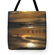 Reflective Sunset Tote Bag