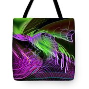 Reflexions Green Tote Bag