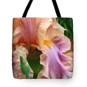 Regal Flower Tote Bag