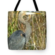 Regal Heron Tote Bag