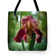 Regal Iris Tote Bag