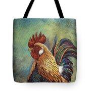 Regal Rooster Tote Bag