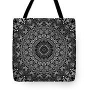 Regalia Black And White No. 4 Tote Bag