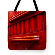 Regally Red Tote Bag