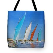 Regate De Chausey Tote Bag